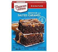 Duncan Hines Decadent Brownie Mix Salted Caramel - 17.6 Oz