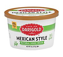 Darigold Mexican Style Sour Cream - 16 Oz