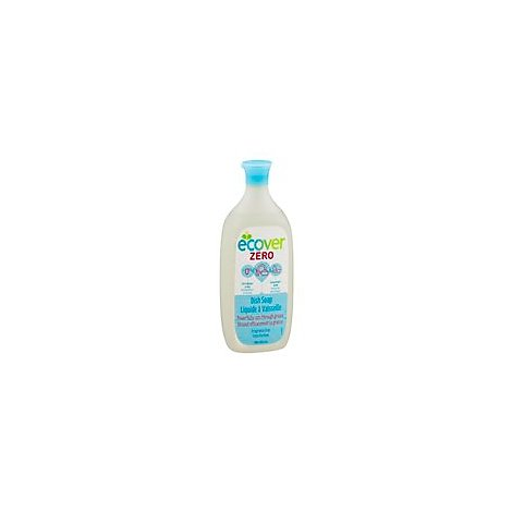 Ecover Dish Soap Zero Fragrance Free Bottle - 25 Fl. Oz.