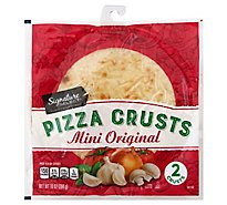 Signature SELECT/Kitchens Pizza Crust Mini Bag 2 Count - 10 Oz