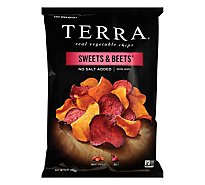 TERRA Vegetable Chips Sweet & Beets No Salt Added - 6 Oz