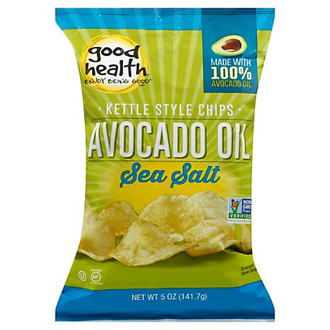 Good Health Kettle Chips Avocado Oil Sea Salt - 5 Oz