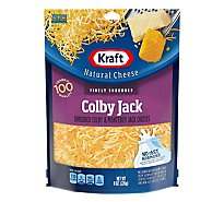 Kraft Natural Cheese Finely Shredded Triple Cheddar - 8 Oz