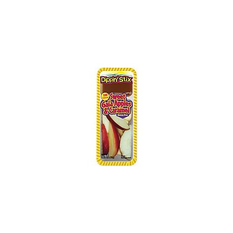 Dippin Stix Sweet Gala Apples & Caramel - 2.75 Oz