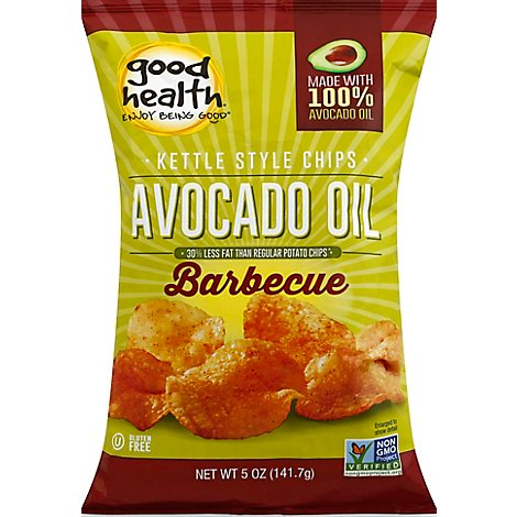 Good Health Kettle Chips Avocado Oil Barbecue Flavored - 5 Oz
