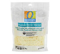 O Organics Organic Cheese Finely Shredded Low-Moisture Part-Skim Italian Blend - 6 Oz