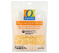 O Organics Organic Cheese Finely Shredded Mexican Blend - 6 Oz