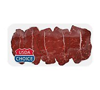 Meat Counter Beef USDA Choice Steak Chuck Top Blade Boneless - 1.00 LB
