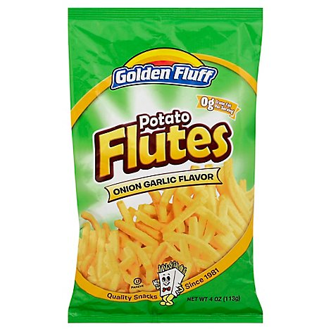 Goldn Fluff Potato Flutes - 4 Oz