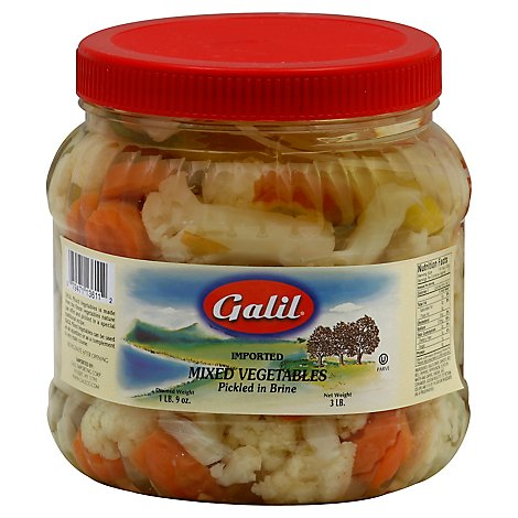 Galil Pickled Mixed Vegetables - 3 Lb