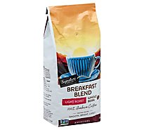 Signature SELECT Coffee Whole Bean Breakfast Blend Light Roast - 32 Oz