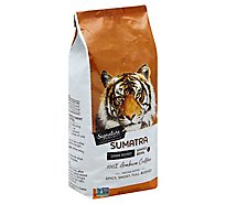 Signature SELECT Coffee Whole Bean Dark Roast Sumatra - 32 Oz