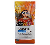 Signature SELECT Coffee Whole Bean Arabica Medium Roast Colombia - 32 Oz