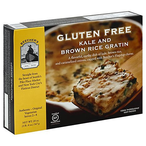 Beechers Kale And Brown Rice Gratin - 20 Oz
