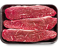 Meat Counter Beef USDA Choice Loin Tri Tip Steak Boneless Extreme Value Pack - 3.50 LB