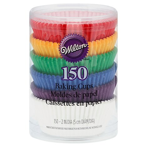 Wilton Baking Cups Rainbow - 150 Count