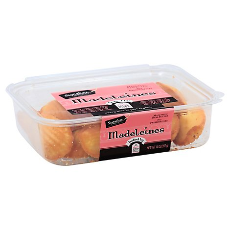 Signature SELECT Madeleines Cookie - 14 Oz