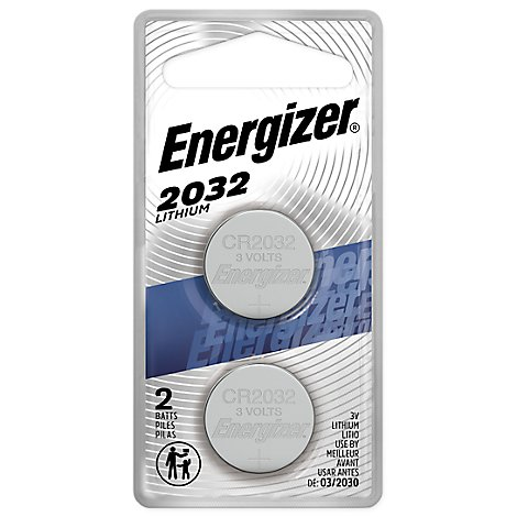 Energizer Batteries 2032 Lithium Coin - 2 Count