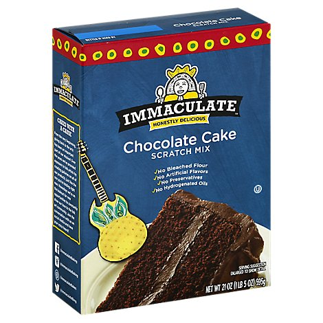 Immaculate Baking Scratch Mix Chocolate Cake - 21 Oz