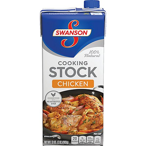 Swanson Cooking Stock Chicken - 32 Oz