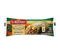 El Monterey Signature Burrito Bean Three Cheese & Jalapeno - 5 Oz