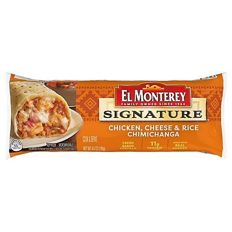 El Monterey Chicken And Cheese Chimichangas - 5 Oz