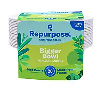 Repurpose Bowls 16 Ounce Wrapper - 20 Count