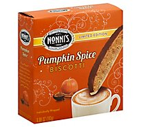 Nonnis Biscotti Pumpkin Spice Limited Edition - 6.88 Oz