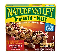 Nature Valley Granola Bars Chewy Trail Mix Dark Chocolate Cherry - 6-1.2 Oz