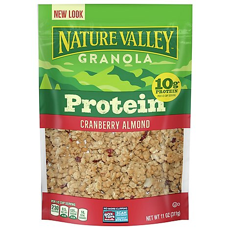 Nature Valley Protein Granola Cranberry Almond - 11 Oz