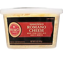 Primo Taglio Cheese Romano Shredded - 5 Oz
