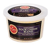 Primo Taglio Cheese Four Cheese Blend Shredded - 5 Oz
