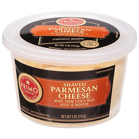 Primo Taglio Cheese Parmesan Shaved - 5 Oz