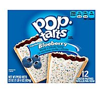 Pop-Tarts Toaster Pastries Frosted Blueberry 12 Count - 22 Oz