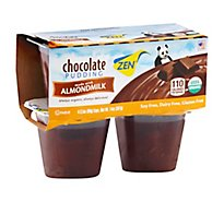 Zen Almond Milk Pudding Chocolate - 3.8 Oz