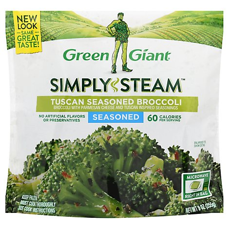 Green Giant Steamers Broccoli Tuscan Seasoned - 11 Oz