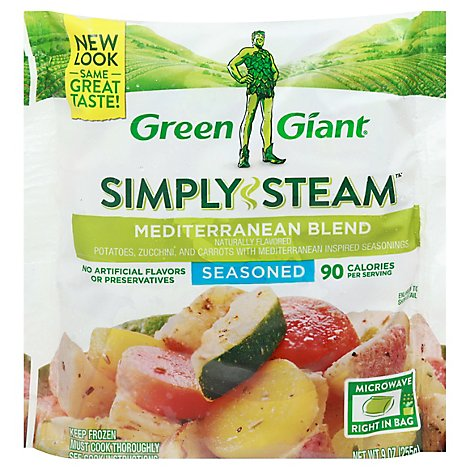 Green Giant Steamers Mediterranean Blend Seasoned - 11 Oz