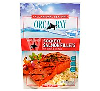 Orca Bay Fish Salmon Sockeye Fillets - 10 Oz