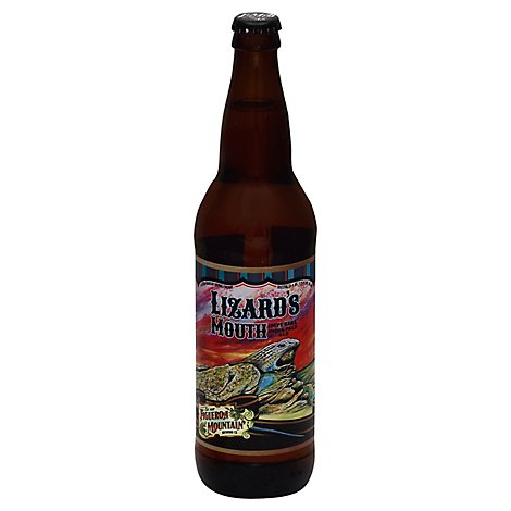 Figueroa Mtn Lizards Mouth Imperial Ipa In Bottles - 22 Fl. Oz.