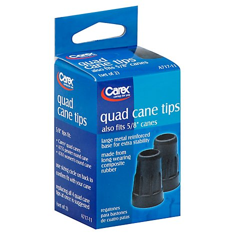Quad Cane Tips - Each
