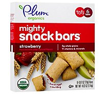 Plum Mighty 4 Bars Strawberry With Spinach - 6-.67 Oz