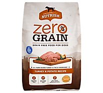 Rachael Ray Nutrish Zero Grain Turkey & Potato Recipe Bag - 14 Lb