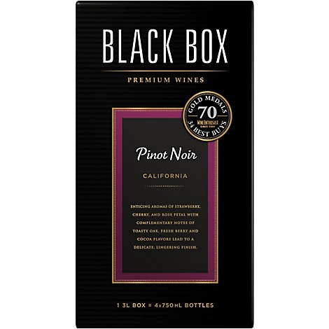 Black Box Wine Red Pinot Noir - 3 Liter