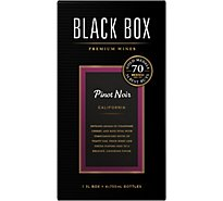 Black Box Pinot Noir Red Wine - 3 Liter