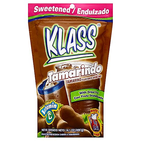 Klass Drink Mix Sweetened Tamarind Pouch - 14.1 Oz