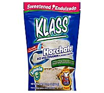 Klass Drink Mix Sweetened Horchata Rice And Cinnamon Pouch - 14.1 Oz