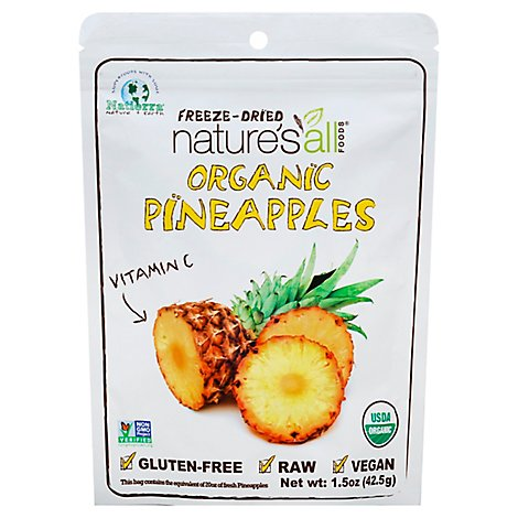 Natures All Foods Pineapple Organic - 1.5 Oz