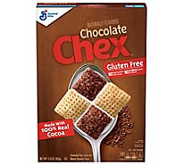 Chex Cereal Rice Gluten Free Chocolate - 12.8 Oz