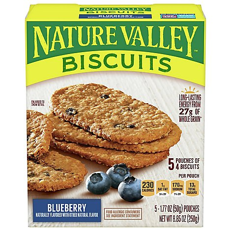 Nature Valley Breakfast Biscuits Blueberry - 5-1.77 Oz