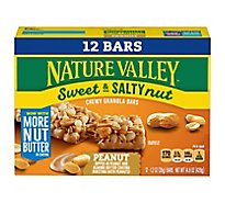 Nature Valley Granola Bars Sweet & Salty Nut Peanut Value Pack - 12-1.2 Oz